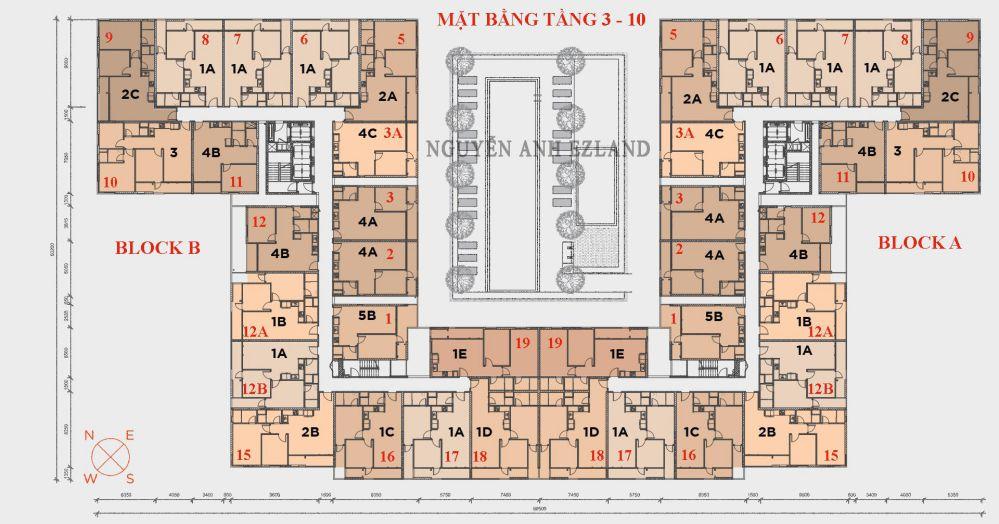 hausneo ezland group mat bang tang 3-10